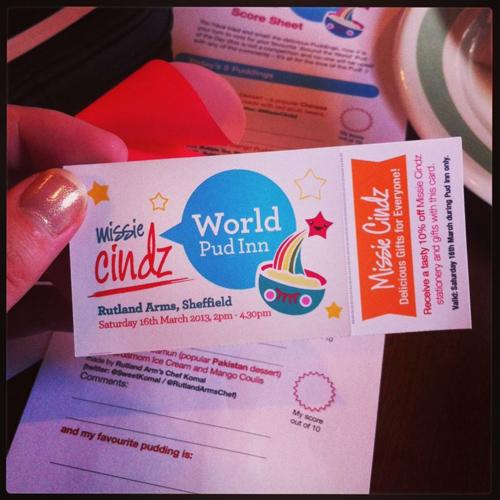Missie Cindz World PudInn 2013