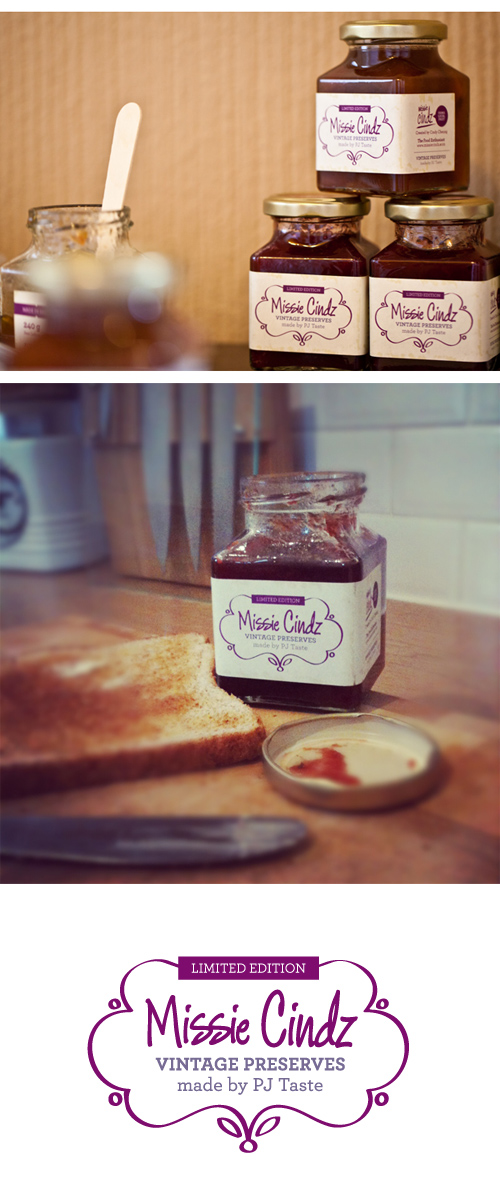 Missie Cindz Vintage Preserves made by PJ taste