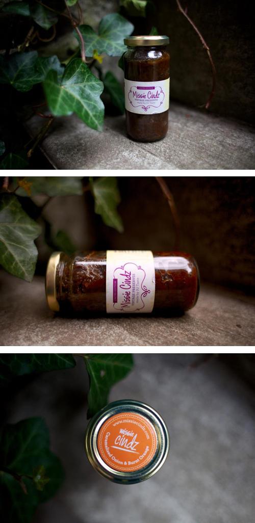 Missie Cindz Vintage Preserves Onion Chutney