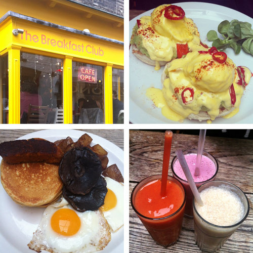 The Little yellow cafes in London