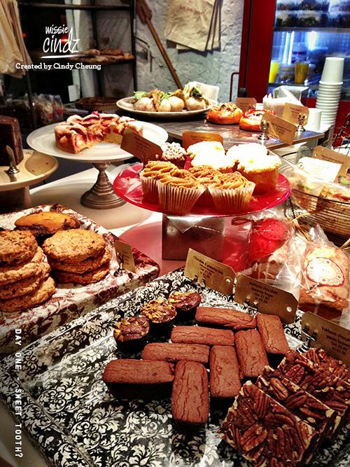 Celebrating National Cake Week at Gail's Bakery, Soho