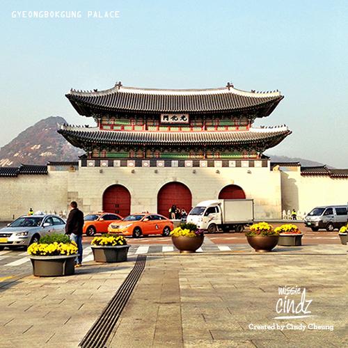 Missie Cindz in Seoul Gyeongbokgung Palace