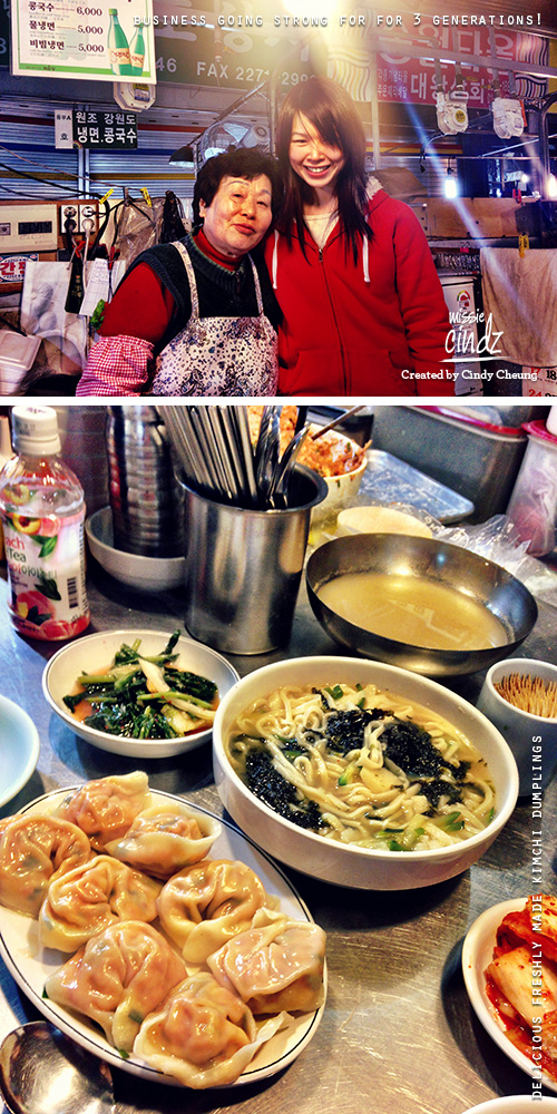 Missie Cindz In Seoul Gwangjang Market