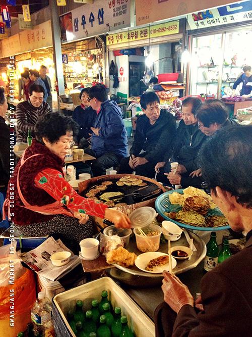 Missie Cindz in Seoul 2013 – Gwangjang Market