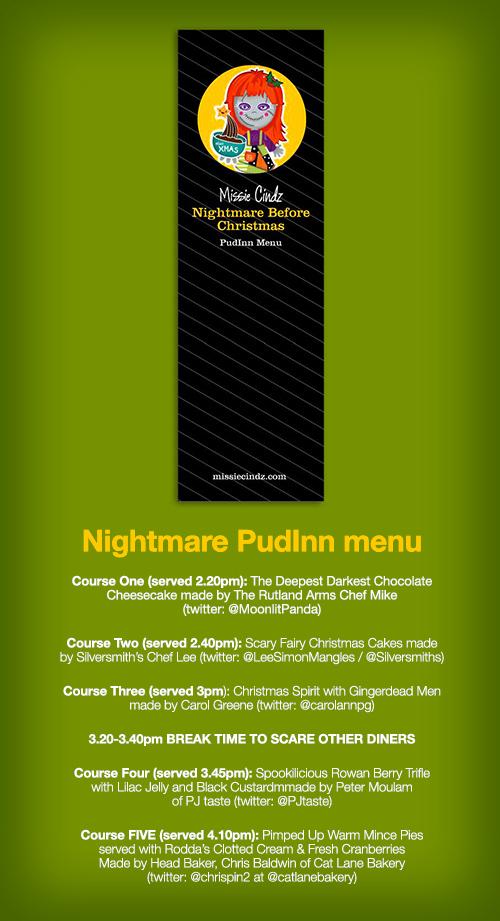 Missie Cindz Nightmare Before Christmas Pud Inn Special