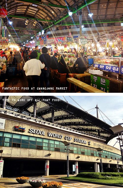 Missie Cindz in Seoul: Gwangjang Markets