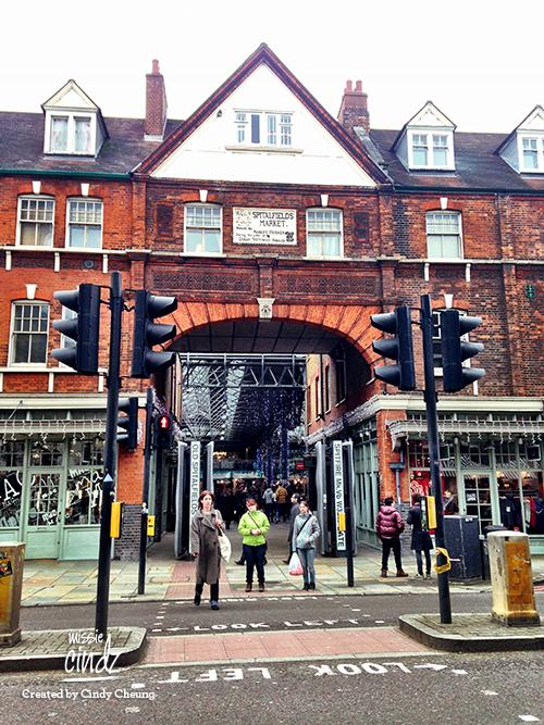 Spitalfield's Market, London