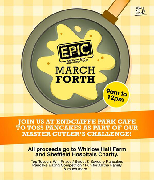 March Forth at Endcliffe Park Cafe – Sheffield