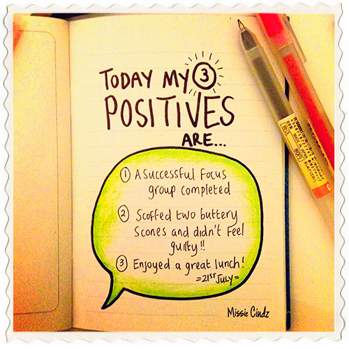 3 Positives a Day for 5 Days