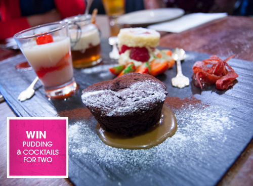 WIN Pudding and cocktails for Two at Silversmiths
