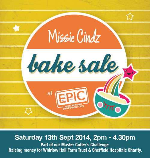Missie's Bake Sale – CAKES NEEDED!