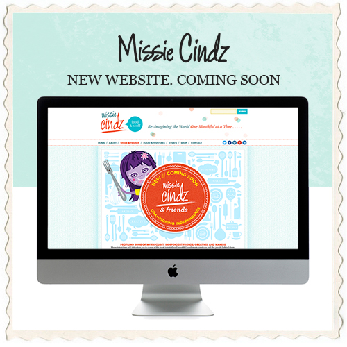 Missie Cindz New website coming soon