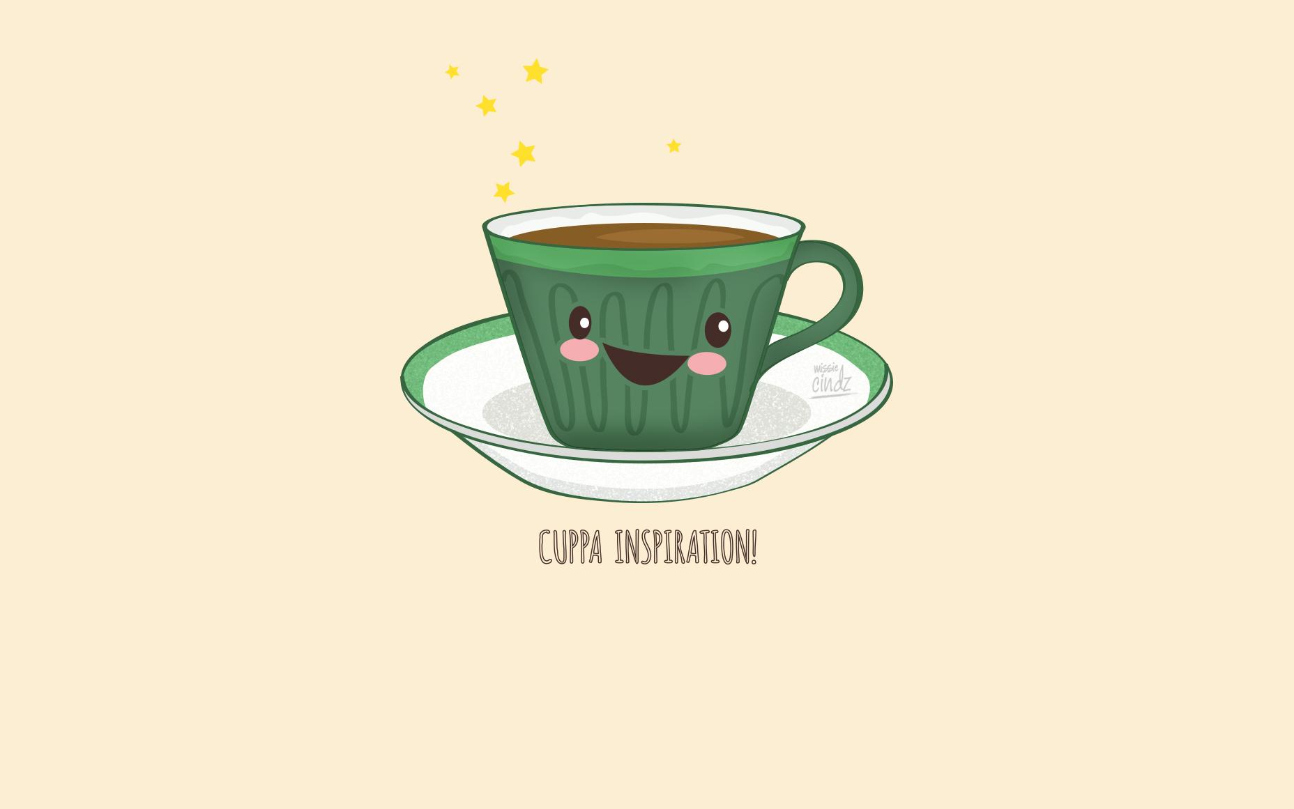 click to download coffee joy desktop wallpaper 1856 x 1161