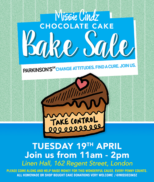 Chocolate Bake Sale for Parkinson's