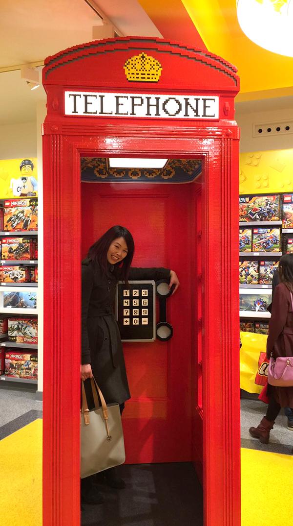 Lego Store, London UK