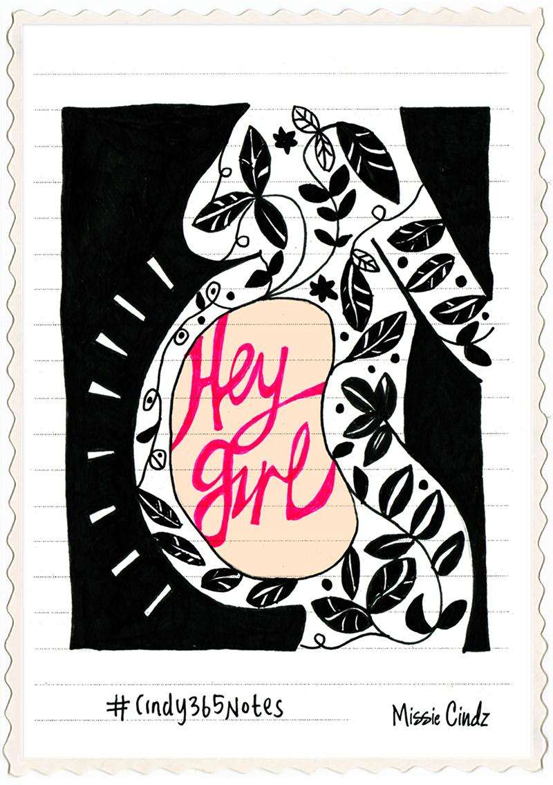 Hey Girl – mum to be