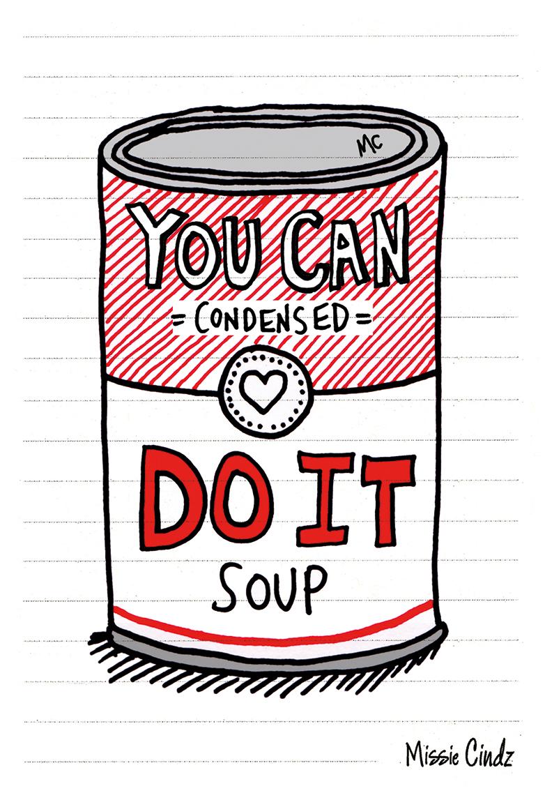 Keep self-creative-you can DO IT!